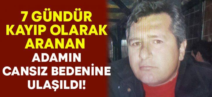 Kütahya Gediz'de 1 haftadır aranan Mustafa Demirci'nin cansız bedeni bulundu!
