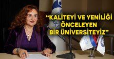 """Prof. Dr. Takımcı değerlendirme toplantısında konuştu""""Kaliteyi ve yeniliği önceleyen bir üniversiteyiz"""""""
