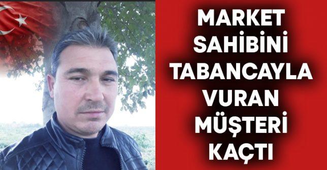 Raşit Tutuğ'u tabanca ile vuran müşteri kaçtı