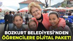 Bozkurt Belediyesi'nden öğrencilere dijital eğitim paketi!