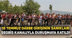 15 Temmuz darbe girişinin sanıkları SEGBİS kanalıyla duruşmaya katıldı