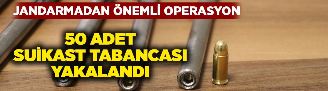 Denizli'de durdurulan şüpheli araçtan 50 adet kalem suikast silahı çıktı