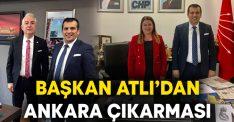 Başkan Atlı'dan Ankara Çıkarması