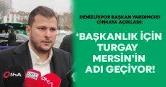 Denizlispor'da 'Başkanlık için Turgay Mersin'in adı geçiyor'