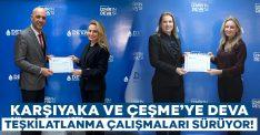 Karşıyaka ve Çeşme'ye DEVA teşkilatlanma çalışmaları tam gaz sürüyor