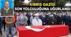 Kıbrıs Gazisi Necdet Uysal son yolculuğuna uğurlandı