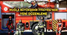 Muğla Büyükşehir Belediyesi İtfaiyesi'nde yeni düzenleme