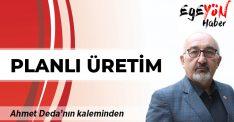 Ahmet Deda yazdı: Planlı üretim