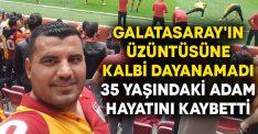 Galatasaray'ın üzüntüsüne kalbi dayanamadı, Muharrem Günay hayatını kaybetti