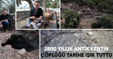 2800 yıllık antik kentin çöplüğü tarihe ışık tuttu