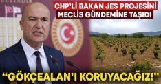 """CHP'li Murat Bakan JES projesini Meclis gündemine taşıdı: """"Gökçealan'ı koruyacağız!"""""""