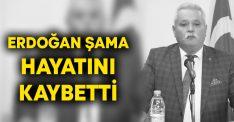 Erdoğan Şama hayatını kaybetti