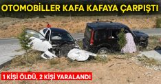 Otomobiller kafa kafaya çarpıştı! Fuat Er hayatını kaybetti