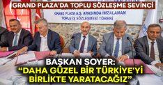 """Başkan Soyer: """"Daha güzel bir Türkiye'yi birlikte yaratacağız"""""""