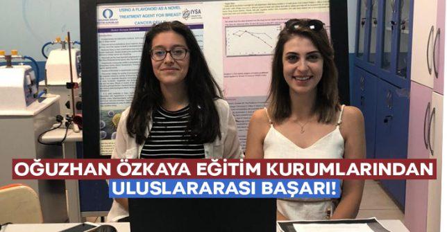 Oğuzhan Özkaya Eğitim Kurumları'ndan Uluslararası Başarı!
